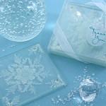 Shimmering Crystal Coaster Favours