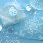 Shimmering Crystal Coaster Favours Set of 4