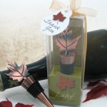 Bronze Elegance - Fall Bottle Stopper Favor