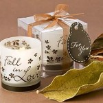 Fall in Love - Fall Tealight Candle Holder