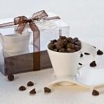 Swish Espresso Cups with Cookie Saucer Plate