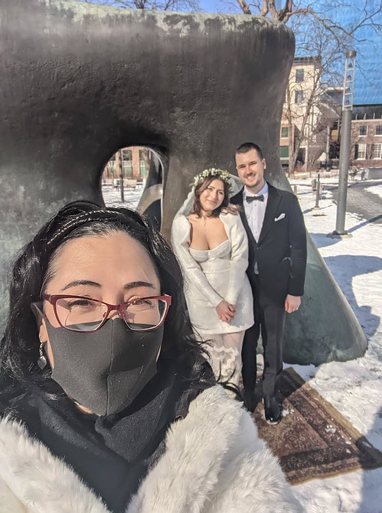 getting married during the pandemic